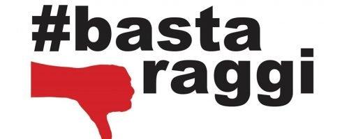 #bastaraggi, la manifestazione a Ponte Sant'Angelo