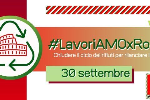 #LavoriAMOxRoma, un incontro sul ciclo dei rifiuti