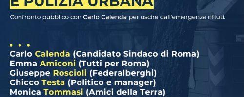 Roma 2021, il piano rifiuti e pulizia urbana