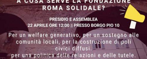 Assemblea presidio Roma Solidale