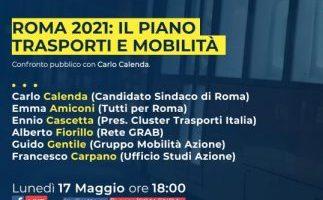 Roma 2021: il Piano trasporti e mobilità