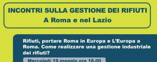 Gli incontri di Tutti per Roma sulla gestione dei rifiuti